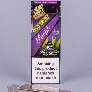 kingpin hemp wraps purple