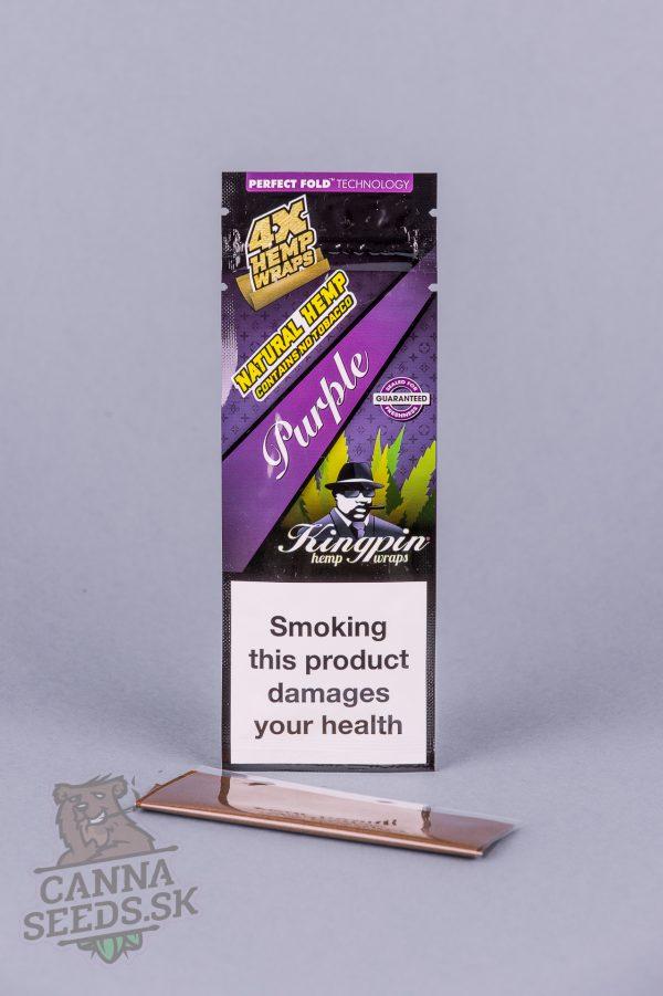 kingpin hemp wraps purple