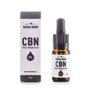 CBN olej Fullspectrum 5% - Tatra Hemp